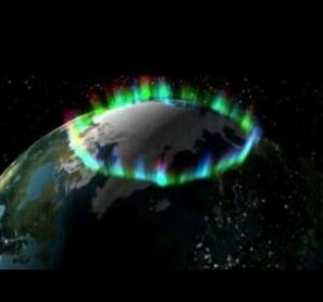 aurora from space 1